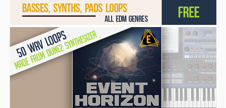 123creative.com Download FREE Event Horizon - Loops (made from Dune2 presets)